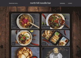 northhillnoodlebar.co.uk
