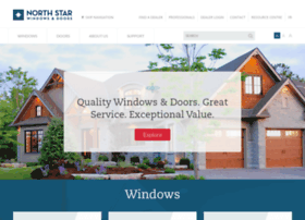 northstarwindows.com