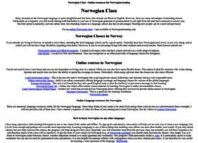 norwegianclass.com