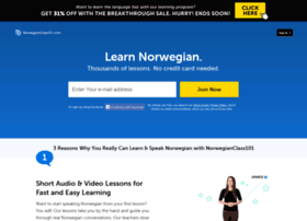 norwegianclass101.com