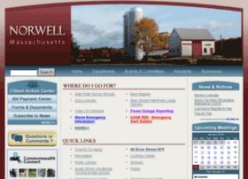 norwellma.virtualtownhall.net
