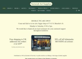 norwichartsupplies.co.uk