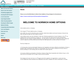 norwichhomeoptions.org.uk