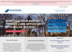 norwood-hospital.org