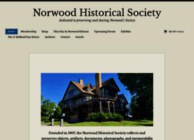 norwoodhistoricalsociety.org