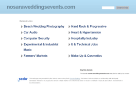 nosaraweddingsevents.com