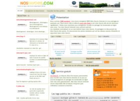 nosfavoris.com