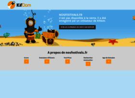 nosfestivals.fr