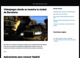 nosinmimochila.com