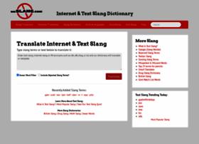 noslang.com