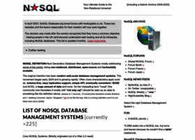 Nosql-database.org