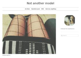 notanothermodel.tumblr.com