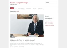 notar-scholz-stuttgart.de