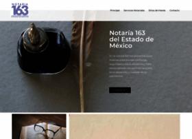 notaria163.com.mx