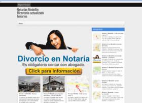 notariasenmedellin.com