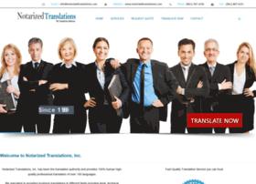 notarizedtranslations.com