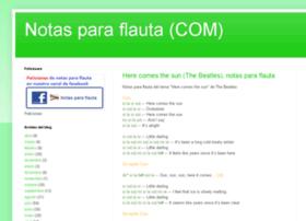 notas-flauta.com