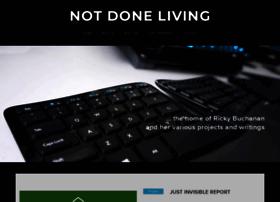 notdoneliving.net