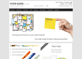note-pads.co.uk