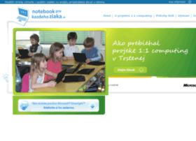 notebookprekazdehoziaka.sk