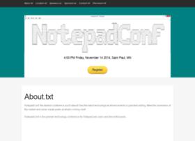 notepadconf.com