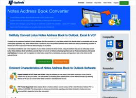 notesaddressbook.com