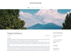 notesfromnaomi.weebly.com