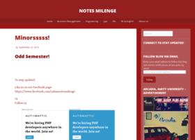notesmilenge.com