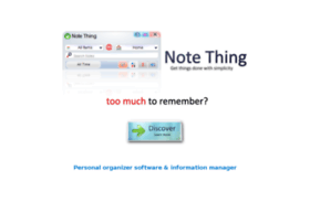 notething.com