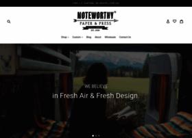 noteworthystore.com