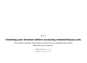 noteworthyusa.com