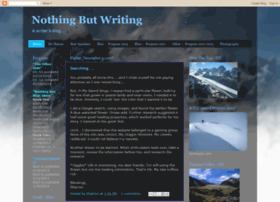 nothingbutwriting.blogspot.fr