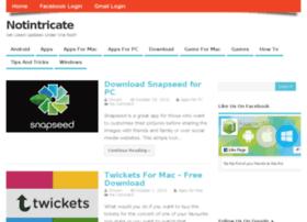 notintricate.com