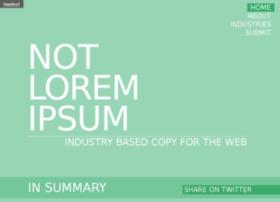 notloremipsum.com