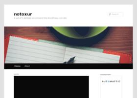 notoxur.wordpress.com