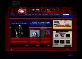 notrehistoire.canadiens.com