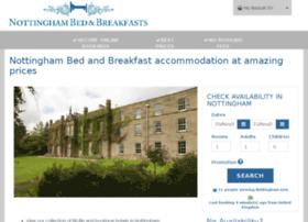 nottinghambedbreakfast.co.uk
