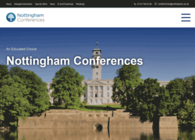 nottinghamconferences.co.uk
