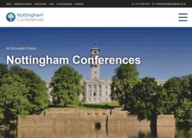 nottinghamconferences.co.uk