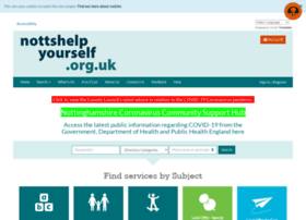 nottinghamshire.familyservicedirectory.org.uk