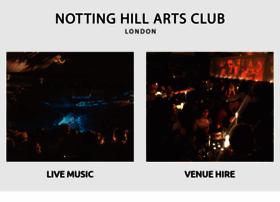 nottinghillartsclub.com