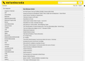 notunburada.com