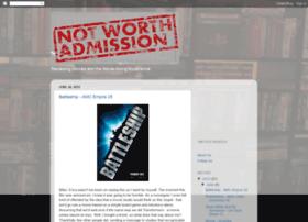 notworthadmission.com
