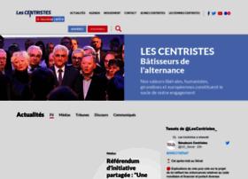 nouveaucentre.fr