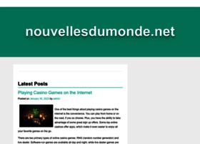 nouvellesdumonde.net