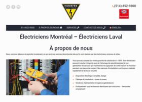 novatekelectrique.com