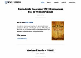 novelinvestor.com