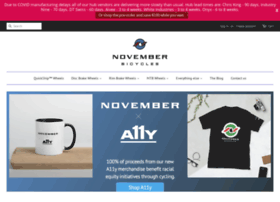 novemberbicycles.com