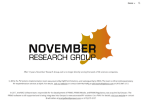 novemberresearch.com