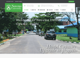 novenauniversity.edu.ng